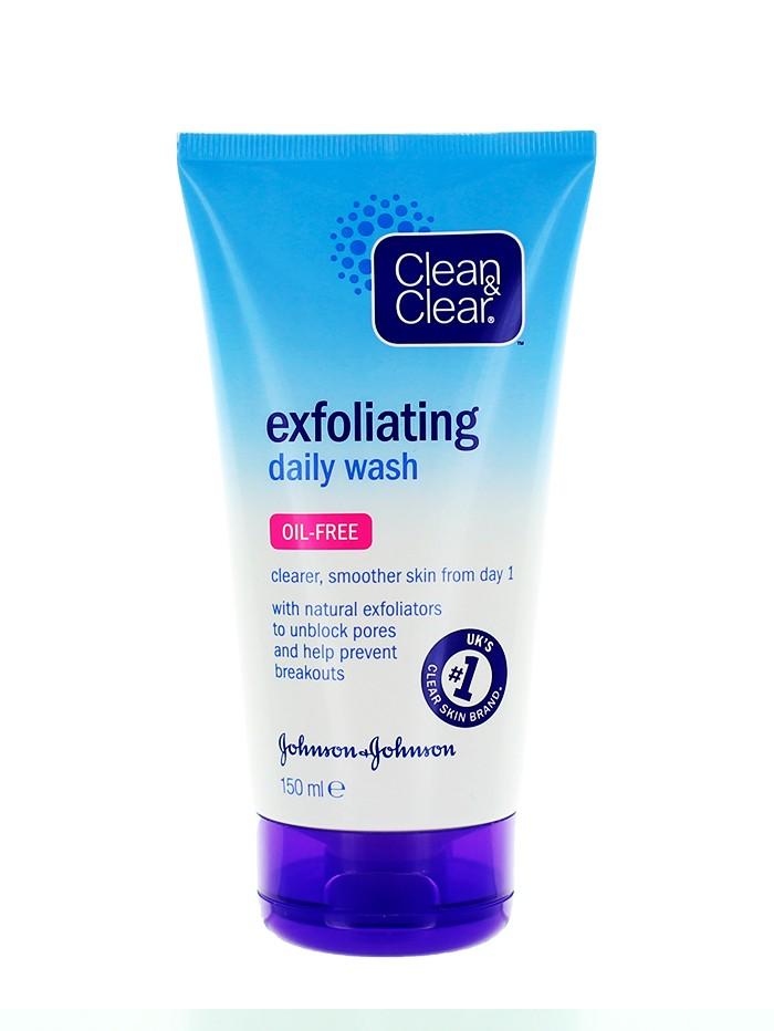 Clean&Clear Scrub pentru fata 150 ml Oil Free imagine produs