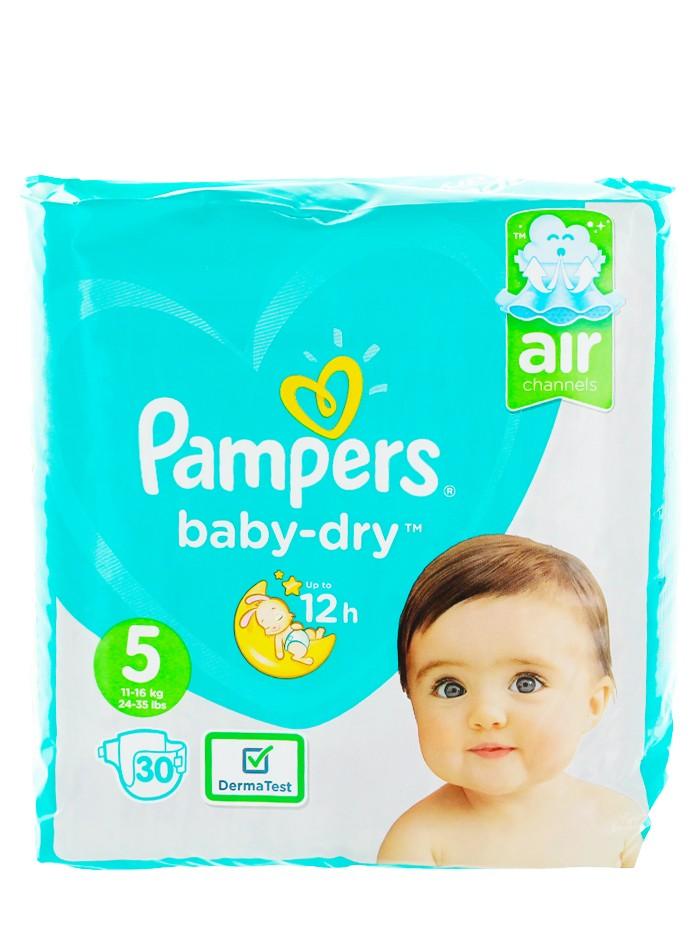 Pampers Scutece nr.5 11-16 kg 30 buc Baby-Dry imagine produs