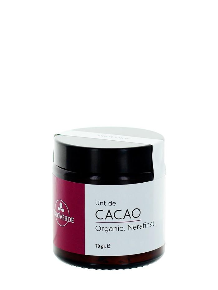 Trio Verde Unt de cacao 70 g Organic imagine produs