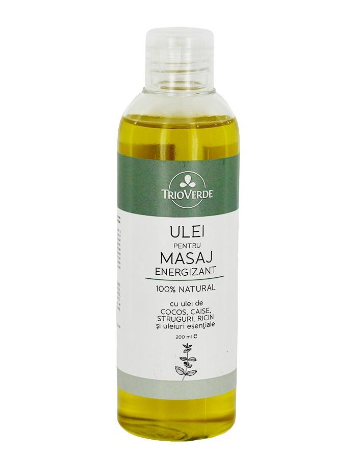 Trio Verde Ulei pentru masaj energizant 200 ml imagine produs