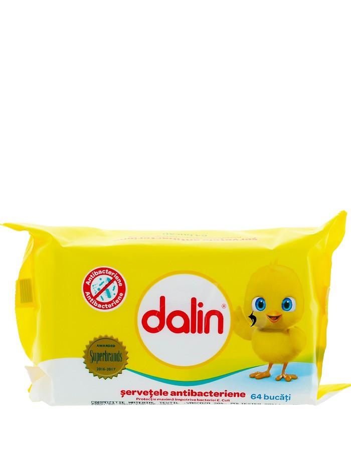 Dalin Servetele umede 64 buc Antibacterian imagine produs