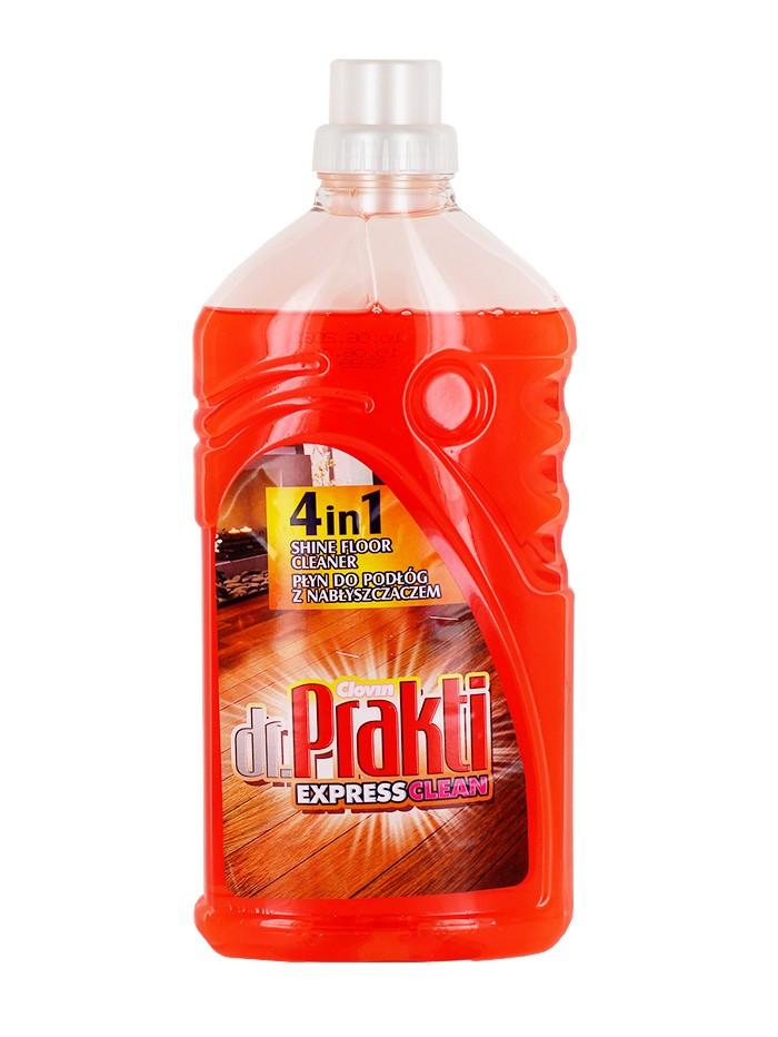 Dr.Prakti Detergent Pardoseli 1L 4 in 1 Shine Floor imagine produs