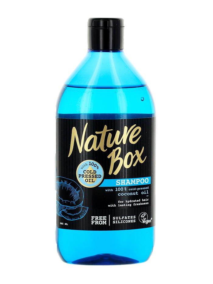 Nature Box Sampon 385 ml Coconut Oil imagine produs