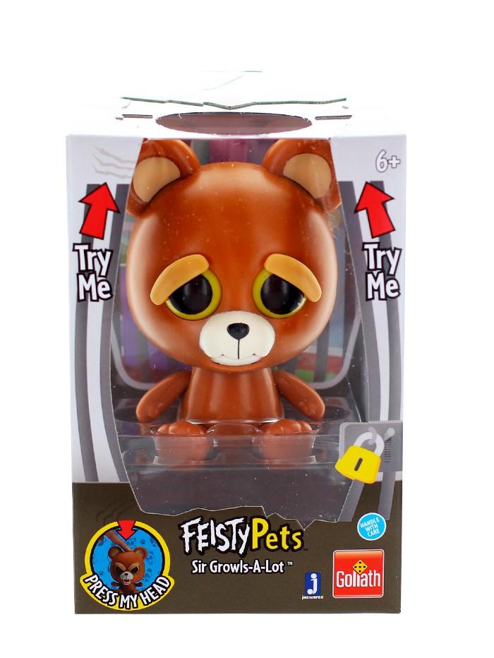 Feisty Pets Jucarie 1 buc Sir Growls-A-Lot imagine produs