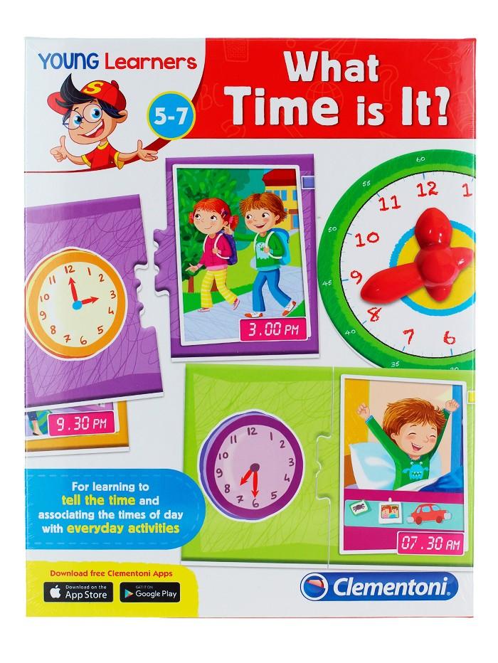 "Clementoni Joc educativ""Sa invatam ceasul'' imagine produs"