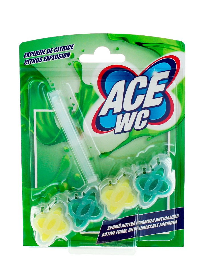 Ace Odorizant wc cu suport 48 g Citrus Explosion imagine produs