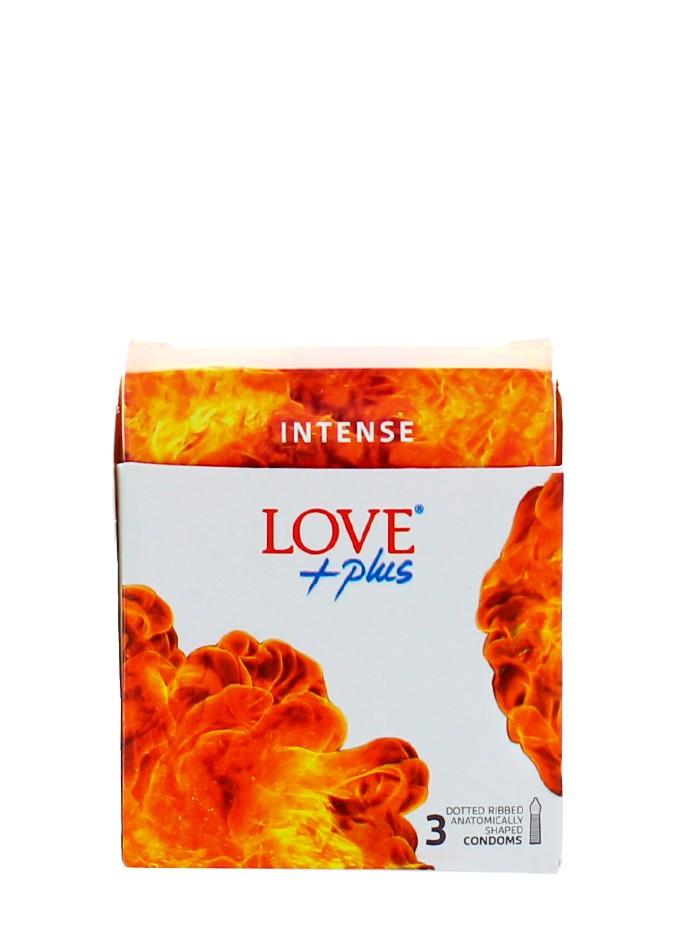 Love Plus prezervative 3 buc Intense imagine produs