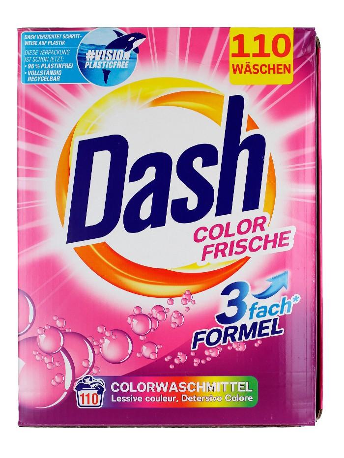 Dash Detergent automat 7.15 kg 110 spalari Color Frische imagine produs
