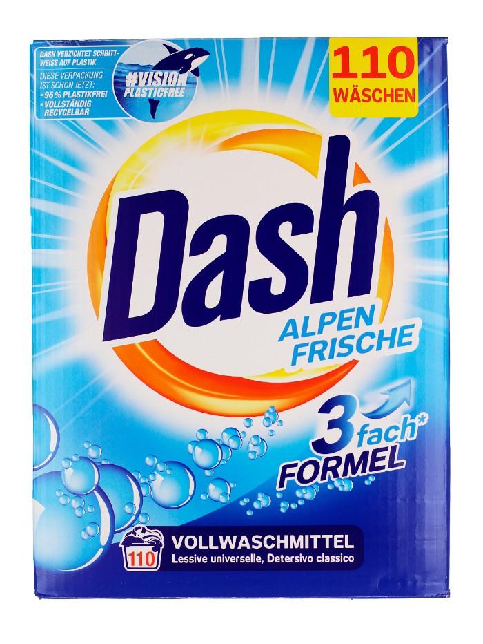 Dash Detergent automat 7.15 kg 110 spalari Alpen Frische imagine produs