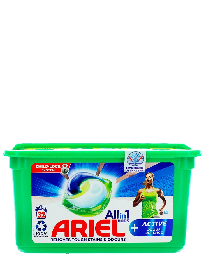 Ariel Detergent Capsule 32 buc All in 1 Active imagine produs