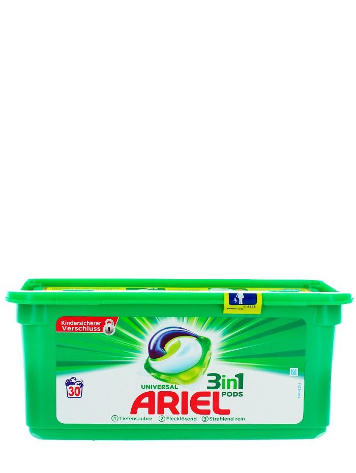 Ariel Detergent Capsule 3in1 30 buc Universal imagine produs