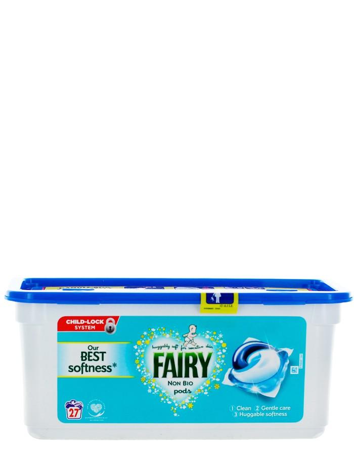 Fairy Detergent Capsule 27 buc Non Bio imagine produs