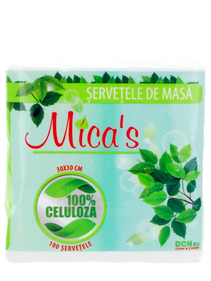 Mica's Servetele de masa 1 straturi 100 buc 30x30 cm imagine produs