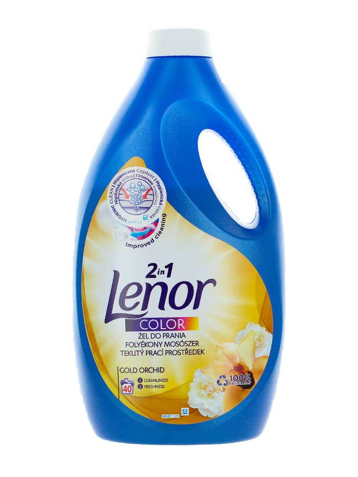 Lenor Detergent Lichid 2.2 L 40 spalari 2in1 Gold Orchid imagine produs