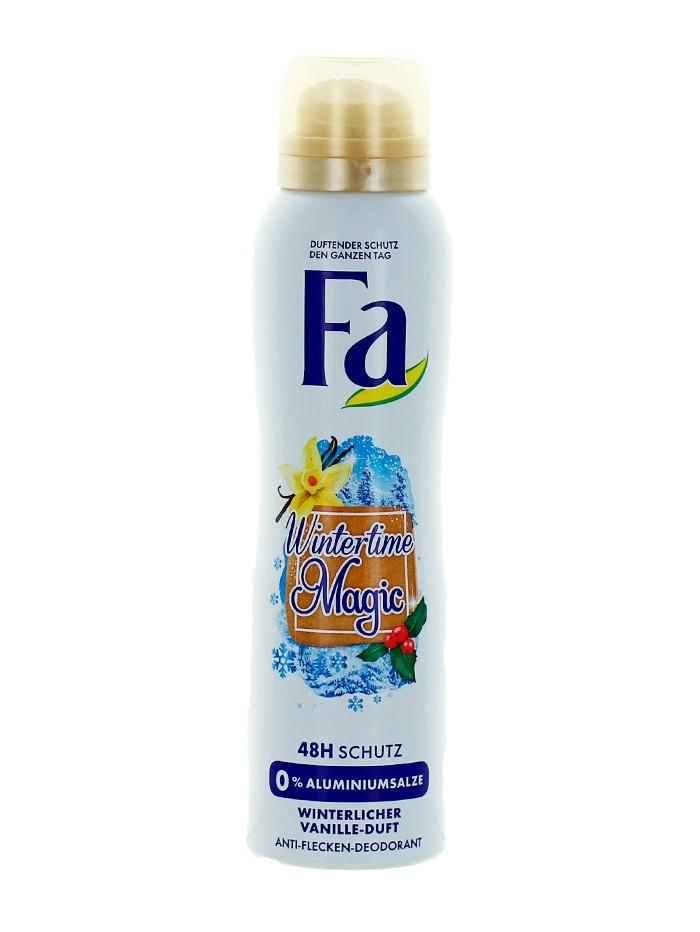 Fa Spray deodorant 150 ml Wintertime Magic 0% Aluminium imagine produs