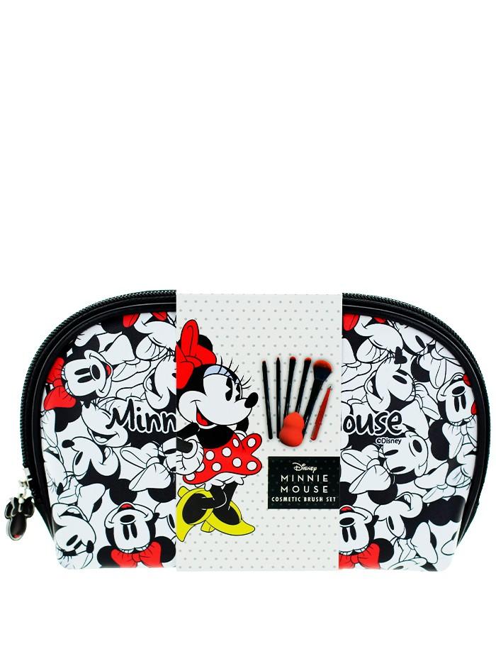 Disney Minnie Mouse gentuta cosmetica cu accesorii 7 piese imagine produs