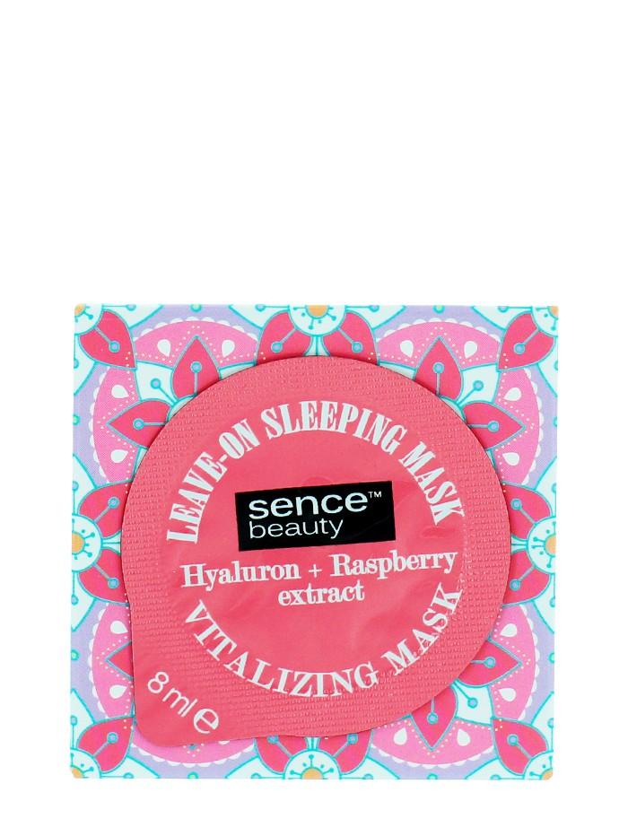 Sence Beauty Masca fata de noapte 8 ml Hyaluron+ Raspberry imagine produs