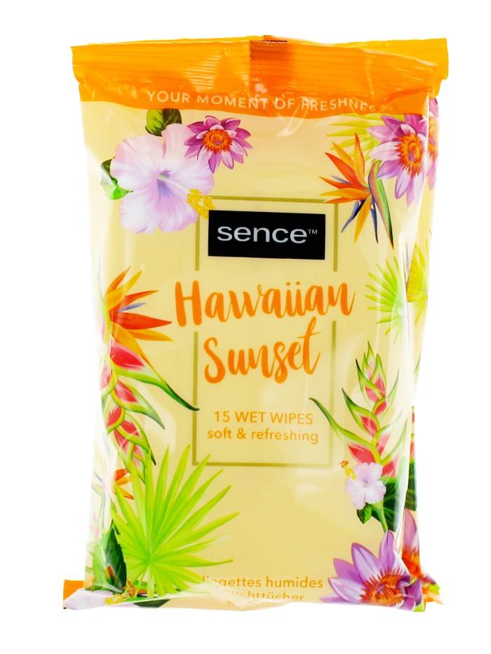 Sence Beauty Servetele umede 15 buc Fresh Citrus imagine produs