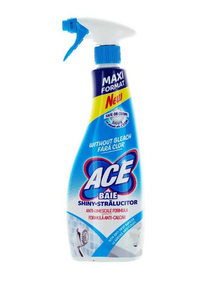 Ace Solutie curatat baie cu pompa 750 ml Fara Clor imagine produs