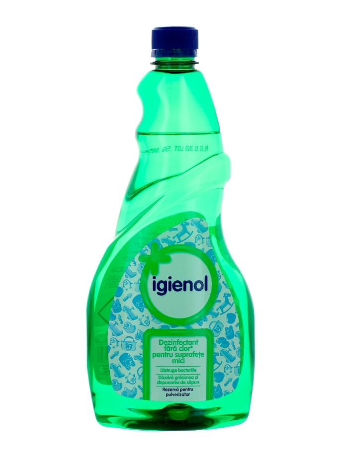 Igienol Rezerva Dezinfectant Multisuprafete 750 ml Fara Clor Mar imagine produs