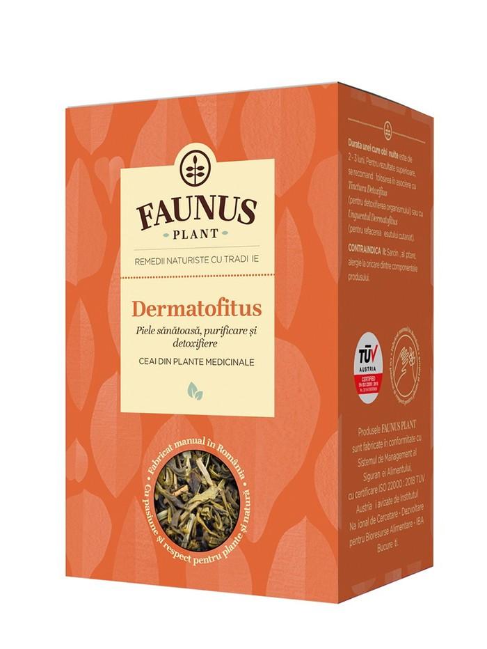 FAUNUS Ceai Dermatofitus 90 g (Piele sanatoasa) imagine produs