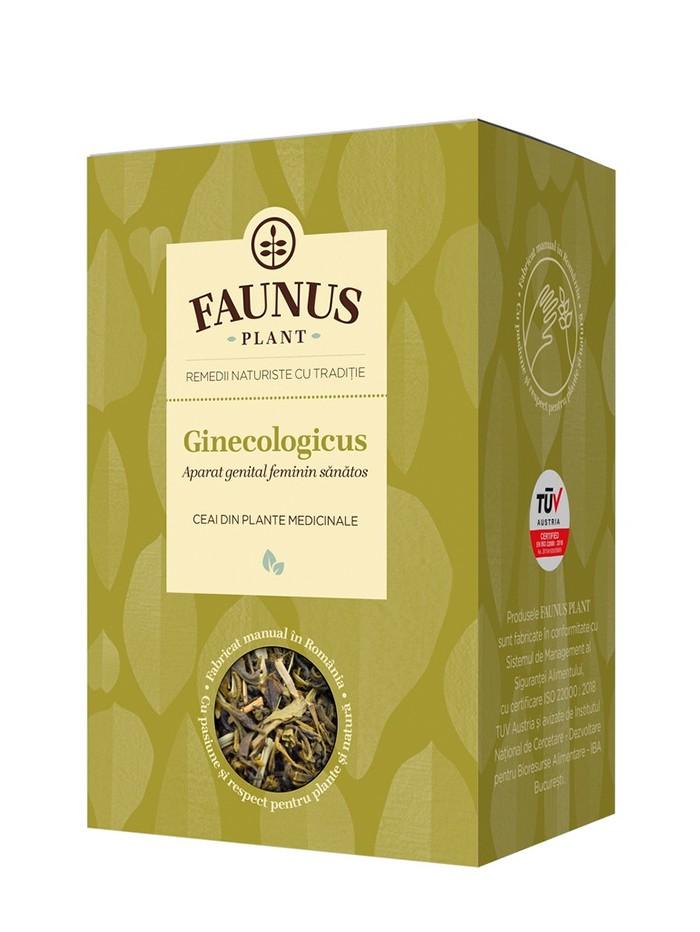 FAUNUS Ceai Ginecologicus 90 g (Aparat genital feminin sanatos) imagine produs