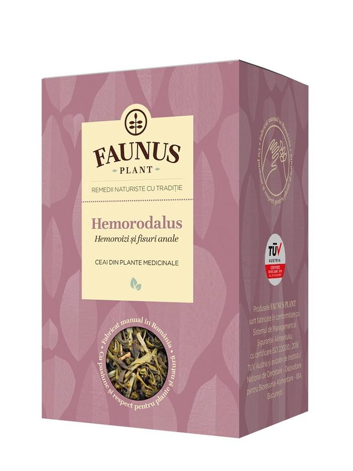 FAUNUS Ceai Hemorodalus 90 g (Hemoroizi si fisuri anale) imagine produs