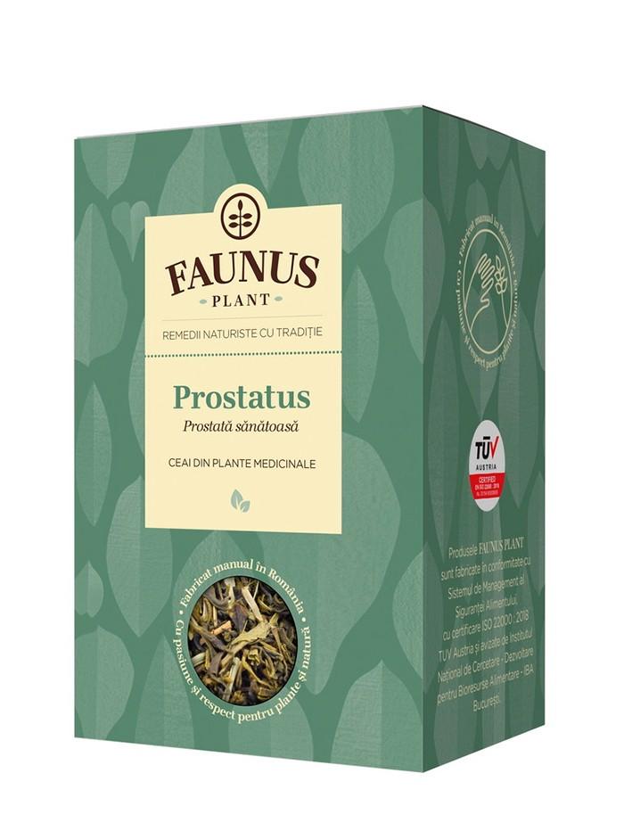 FAUNUS Ceai Prostatus 90 g (Prostata sanatoasa) imagine produs