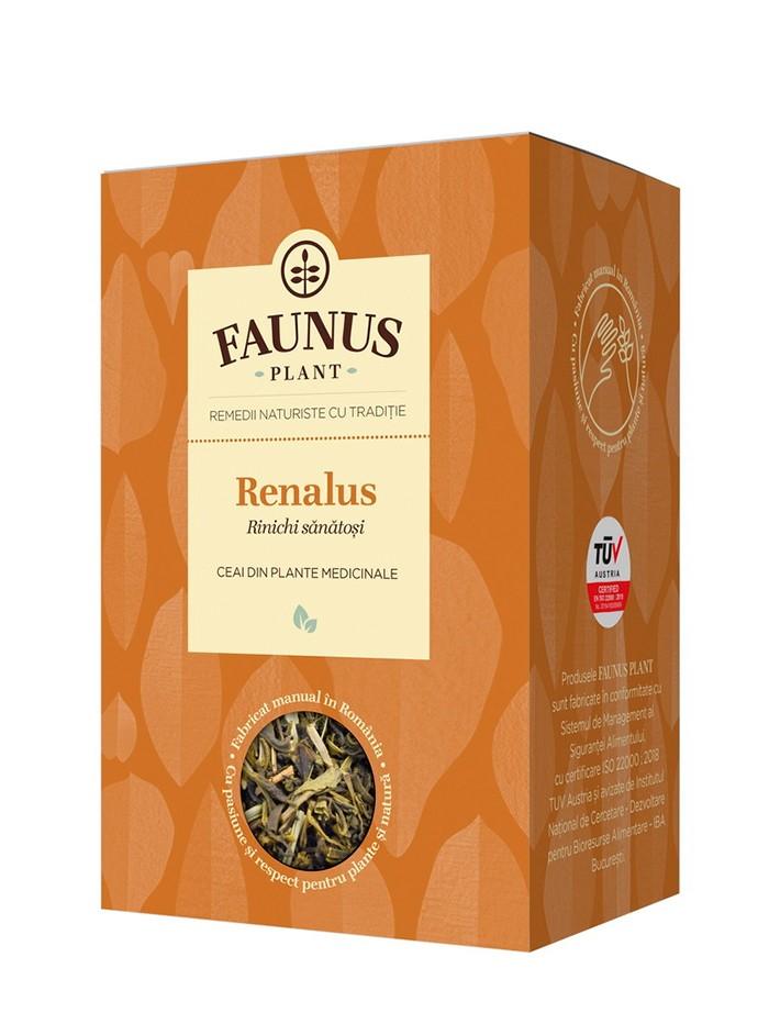 FAUNUS Ceai Renalus 90 g (Rinichi sanatosi) imagine produs