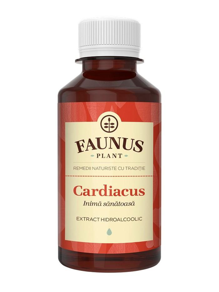 FAUNUS Tinctura Cardiacus 200 ml (Inima sanatoasa) imagine produs