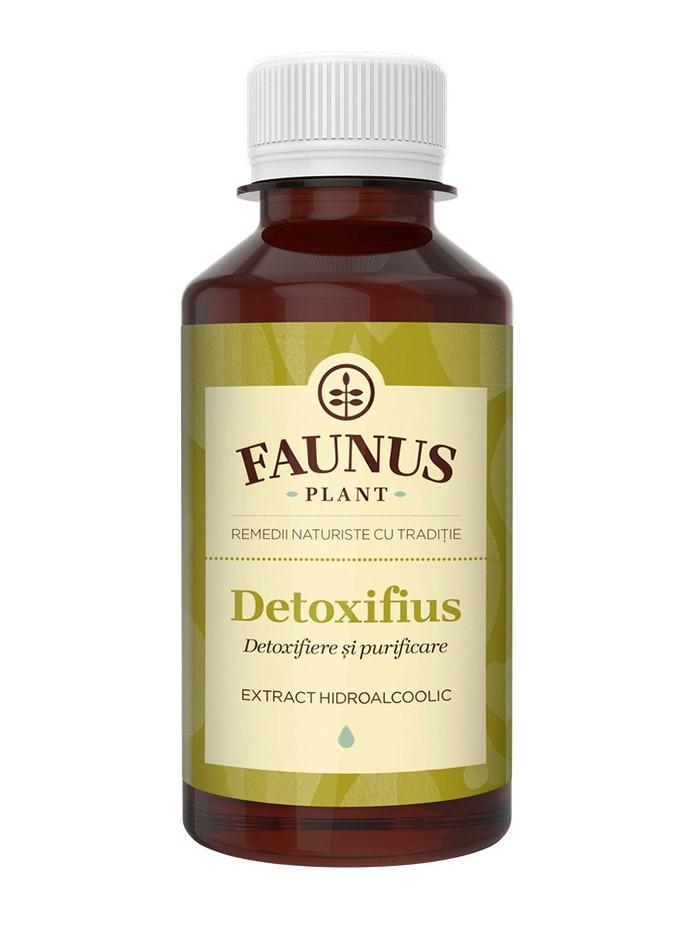FAUNUS Tinctura Detoxifius 200 ml (Detoxifiere si purificare) imagine produs