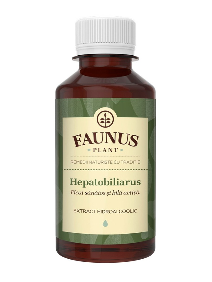 FAUNUS Tinctura Hepatobiliarus 200 ml (Ficat sanatos) imagine produs