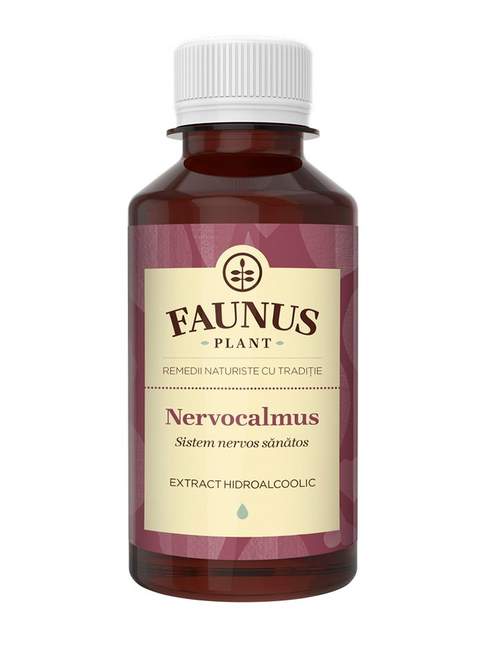 FAUNUS Tinctura Nervocalmus 200 ml (Sistem nervos sanatos) imagine produs