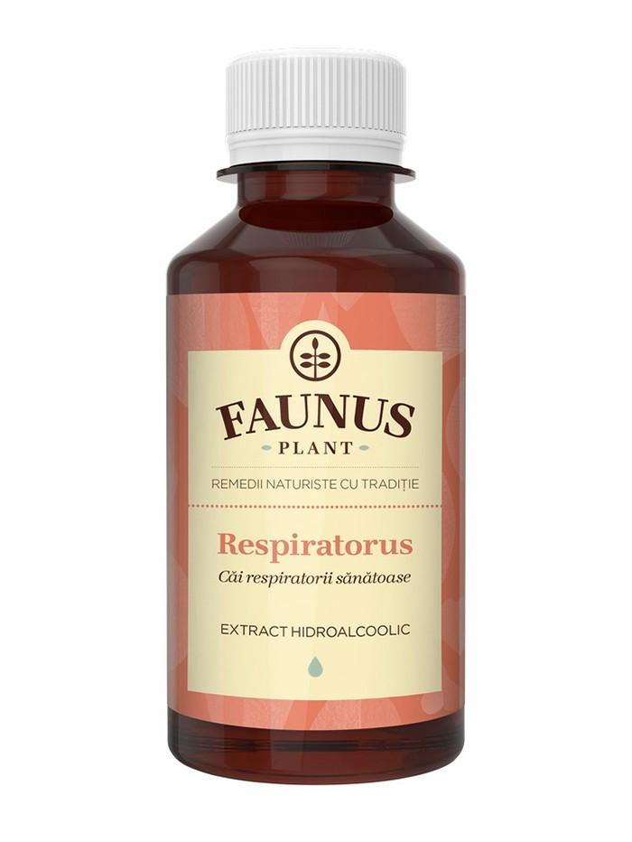 FAUNUS Tinctura Respiratorus 200 ml (Cai respiratorii sanatoase) imagine produs