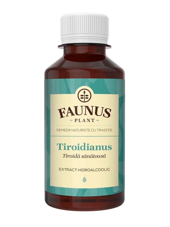 FAUNUS Tinctura Tiroidianus 200 ml (Tiroida sanatoasa) imagine produs