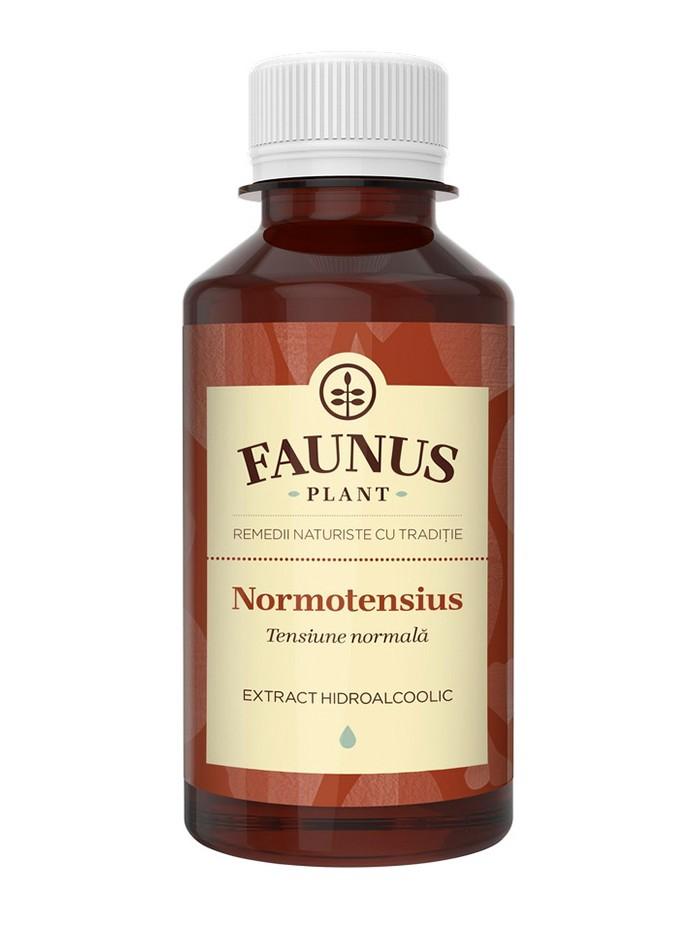FAUNUS Tinctura Normotensius 200 ml (Tensiune normala) imagine produs