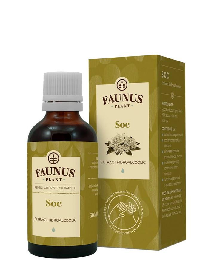 FAUNUS Tinctura Soc 50 ml imagine produs
