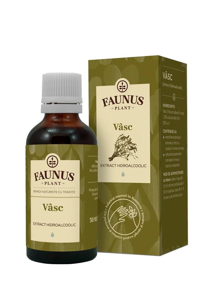 FAUNUS Tinctura Vasc 50 ml imagine produs