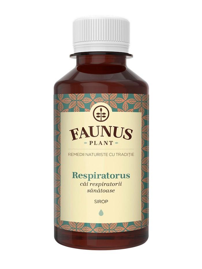 FAUNUS Sirop Respiratorus 200 ml (Cai respiratorii sanatoase) imagine produs
