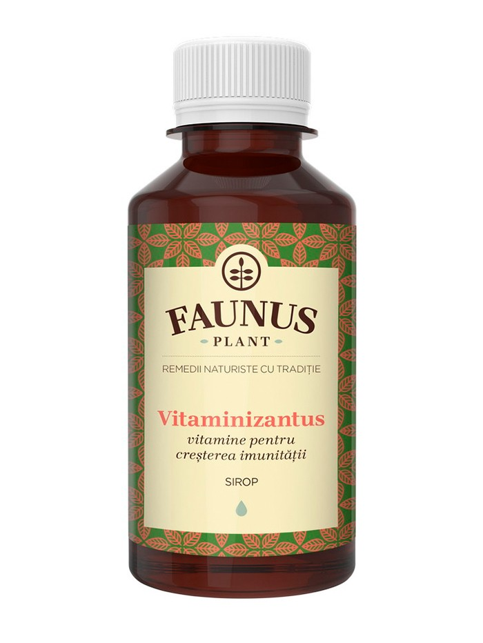 FAUNUS Sirop Vitaminizantus 200 ml (Vitamine pentru cresterea imunitatii) imagine produs