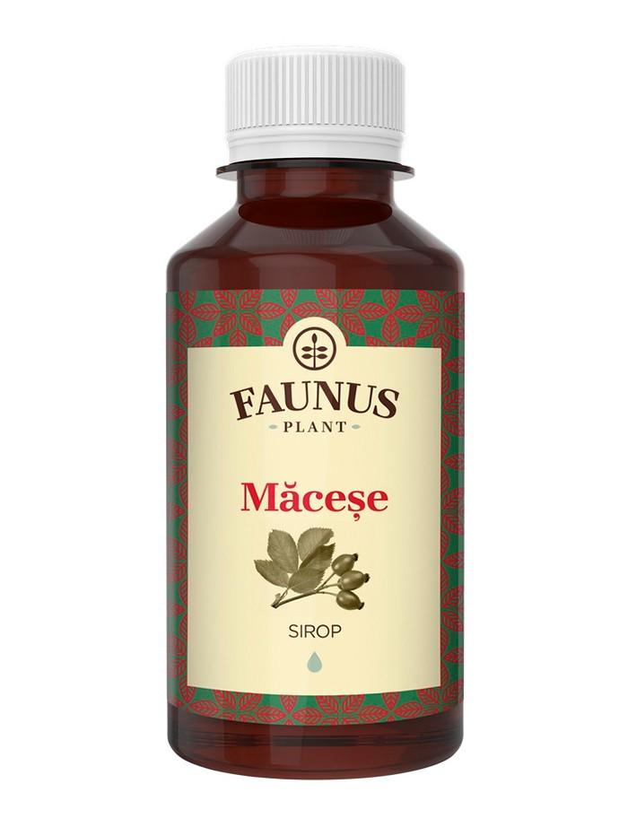 FAUNUS Sirop Macese 200 ml imagine produs
