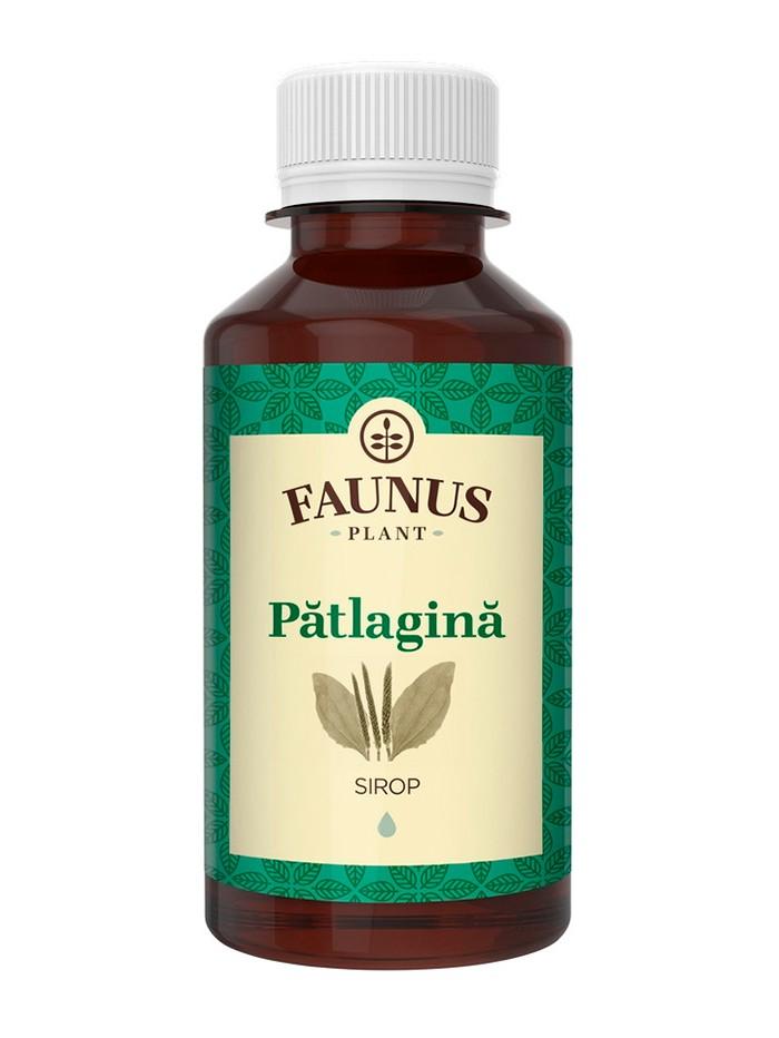 FAUNUS Sirop Patlagina 200 ml imagine produs