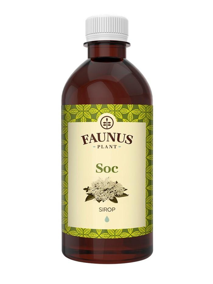 FAUNUS Sirop Soc 200 ml imagine produs