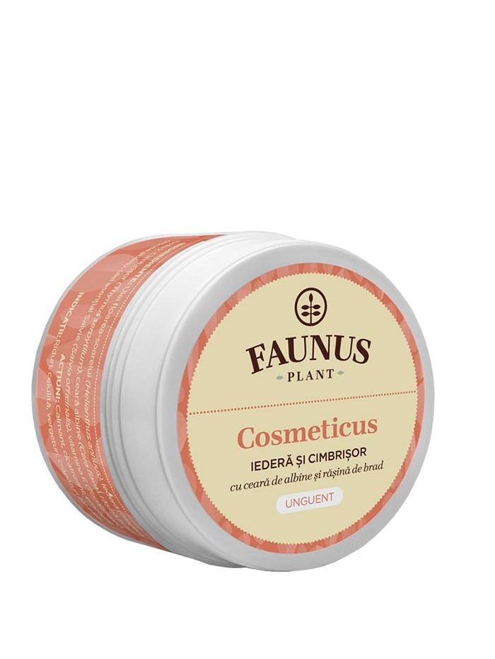 FAUNUS Unguent Cosmeticus 50 ml Iedera si Cimbrisor imagine produs