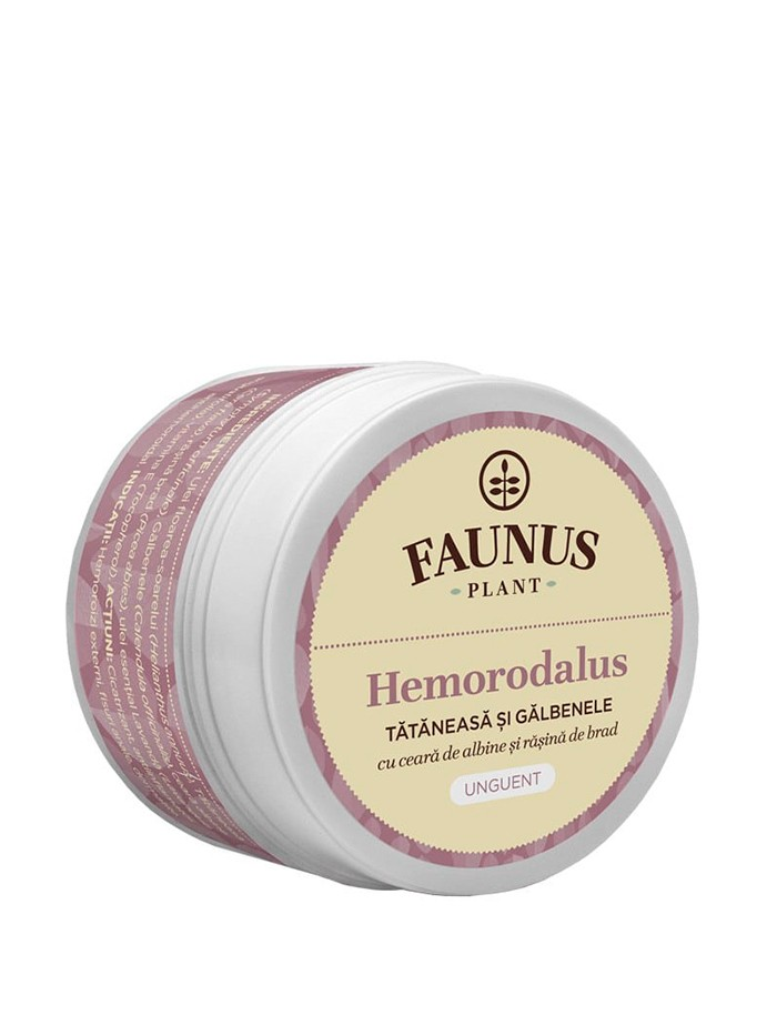 FAUNUS Unguent Hemorodalus 50 ml Tataneasa si Galbenele imagine produs