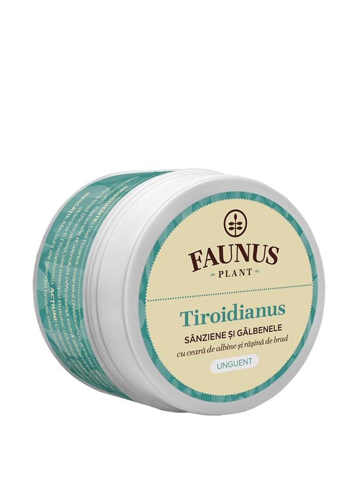 FAUNUS Unguent Tiroidianus 50 ml Sanziene si Galbenele imagine produs