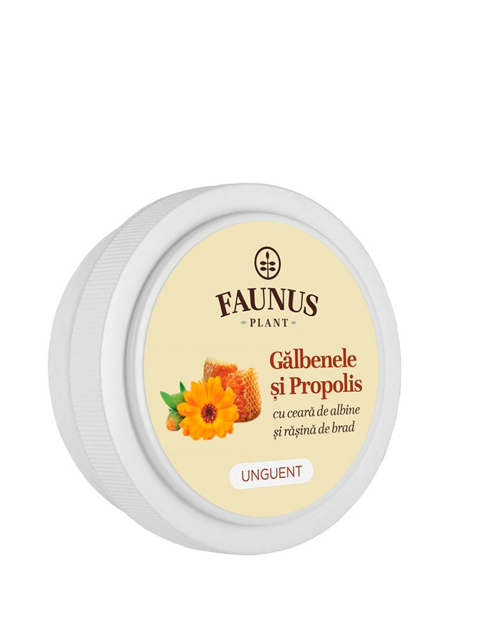 FAUNUS Unguent Galbenele si Propolis 20 ml imagine produs