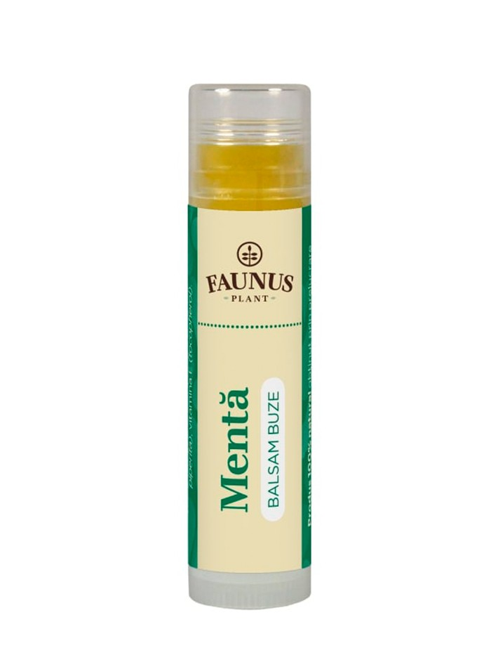 FAUNUS Balsam de buze 5 ml Menta imagine produs