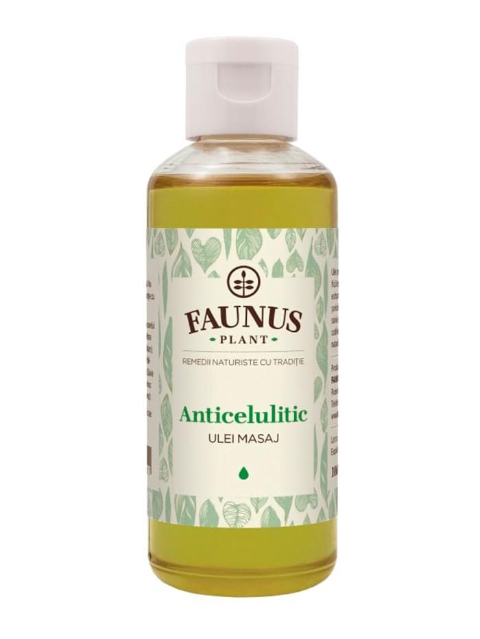 FAUNUS Ulei masaj 100 ml Anticelulitic imagine produs