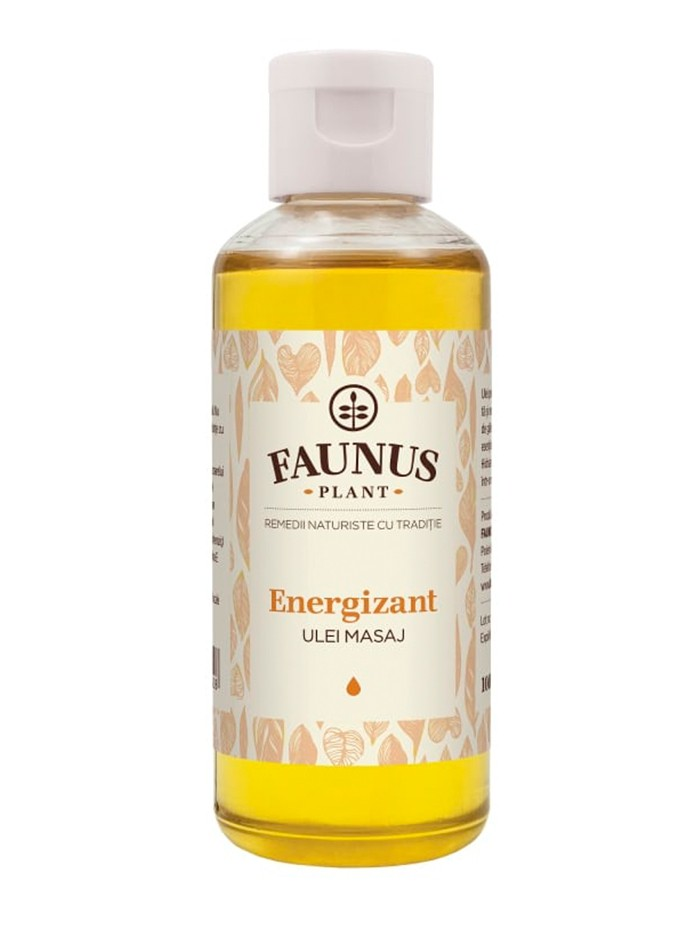 FAUNUS Ulei masaj 100 ml Energizant imagine produs